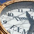 Gold Clock by Samantha Kimble