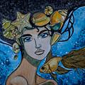 Gold Fish by Jenya Kadnikova