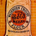 Gold Medal Flour Sign by The Art of Alice Terrill