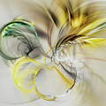 Gold Plumage by Marfffa Art