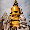 Gold Stupa by Maria Coulson