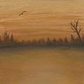 Gold Sunset by Patty Vicknair