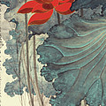 Gold Thread Lotus by Zhang Daqian