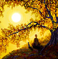 Golden Afternoon Meditation by Laura Iverson