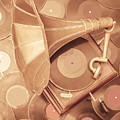 Golden Age Of Sound by Jorgo Photography - Wall Art Gallery