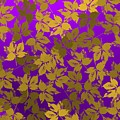 Golden And Bright Violet by Alberto RuiZ