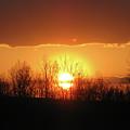 Golden Arch Sunset by Debra     Vatalaro