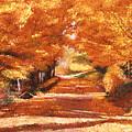 Golden Autumn by David Lloyd Glover