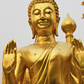 Golden Buddha by Emily M Wilson