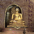 Golden Buddha Of Chang Mai by William Thomas