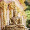Golden Buddha Ornament by Sophie McAulay