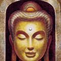 Golden Buddha by Sue Halstenberg