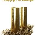 Golden Candles by Ellen O'Reilly