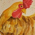 Golden Chicken by Maria Urso