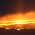 Golden Crested Clouds by Andrea Lawrence