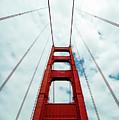 Golden Crossing - Golden Gate Bridge San Francisco by Michael Rivera