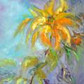 Golden Dahlia by Sally Seago