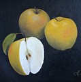 Golden Delicious by Jan Brown Caraway
