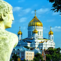 Golden Domes Moscow by Rick Bragan