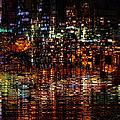 Golden Evening by Kiki Art