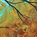 Golden Fascination 5 by Megan Duncanson