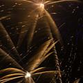 Golden Fireworks by Garry Gay