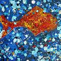 Golden Fish by Christine Bonnie Ghattas