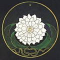 Golden Flower Mandala by Frederick Holiday