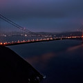Golden Gate At Night by Patrick Boening