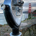 Golden Gate Binoculars by Peter Tellone