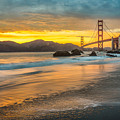 Golden Gate Bridge After Sunset by James Udall
