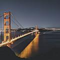 Golden Gate Bridge At Night by Fbmovercrafts