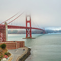 Golden Gate Bridge Fort Point by Benny Marty