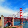 Golden Gate Bridge Four by Tina M Wenger