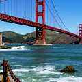 Golden Gate Bridge From Fort Point by Teri Virbickis