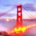 Golden Gate Bridge IIi by Francine Collier