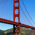 Golden Gate Bridge In The Sun by Teri Virbickis