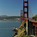 Golden Gate Bridge - North View by Harold Rau