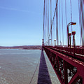 Golden Gate Bridge Perspective by Ana V Ramirez