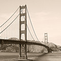 Golden Gate Bridge San Francisco - A Thirty-five Million Dollar Steel Harp by Christine Till