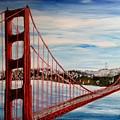 Golden Gate Bridge by Irving Starr