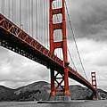Golden Gate Bridge - San Francisco by Thomas Krappweis