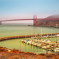 Golden Gate Bridge Sausalito by Benny Marty