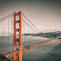 Golden Gate Bridge Selective Color by James Udall
