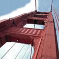 Golden Gate Bridge Tower by William Bitman