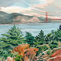 Golden Gate by Donald Maier