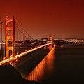 Golden Gate Evening by Jan Senderek