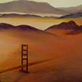 Golden Gate Fog by Jamie Frier