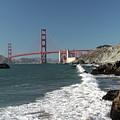 Golden Gate From Baker Beach by Harold Rau