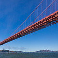Golden Gate From The Bay by Scott Campbell